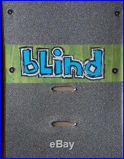 VTG 1991 Blind Jason Lee Icons Skateboard Independent Trucks A1 Meats Wheels
