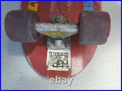 VTG 78-79 Micke Alba 9.75 Kryptonics K-Beam Skateboard Tracker Simms RARE VHTF