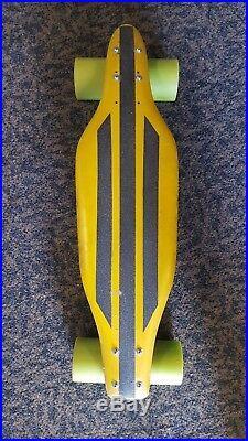 VTG OG 1971 BOB TURNER SUMMER SKI NEEDLE NOSE SKATEBOARD With PROTO TYPE ABEC MOMO