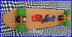 Val Surf Oak skateboard, vintage 70's old sims G&S dogtown logan