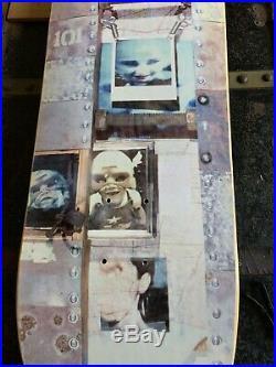 Very Very RARE NOS Natas Kaupas 101 bolts slick Skateboard Deck. Near Mint