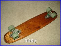 Vintage 1960's Zipees Sidewalk Surfboard Skateboard