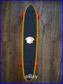 Vintage 1970's Fibreflex Gordon & Smith Skateboard Kick Tail G&S NOS