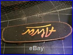 Vintage 1970's Rare Original Tony Alva Skateboard