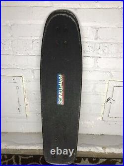 Vintage 1970s kryptonics foam core skateboard rare