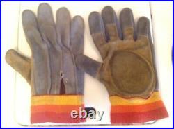Vintage 1977 Hobie Padded Skateboard Gloves