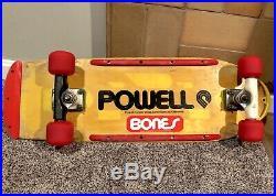 Vintage 1978 Powell Peralta Britelite Skateboard MODEL #1 Bones HOLY GRAIL