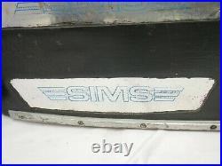 Vintage 1979 Sims Skateboard-Dave Andrecht- Independent Trucks-Powell Bones