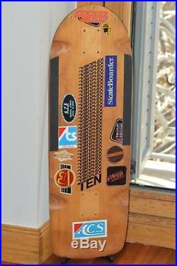Vintage 1979 VARIFLEX TEN TEAM MODEL Skateboard Deck