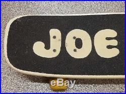 Vintage 1980's NASH JOE COOL Skateboard Old School Snoopy Woodstock Peanuts