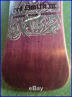 Vintage 1980s NOS Fred Smith III ALVA Skateboard Deck LOUD ONE MODEL