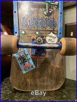 Vintage 1980s Rare Schmitt Stix Lucero Skateboard