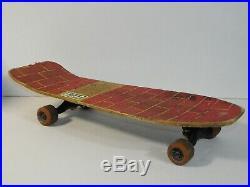 Vintage 1980s Santa Cruz Jeff Grosso Skateboard Deck Gull Wing HPG IV 92A Bullet