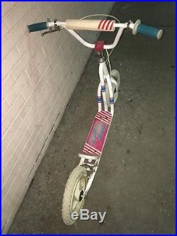 Vintage 1980s VARIFLEX Skateboard FREE SPIRIT BMX SCOOTER All Original Patina