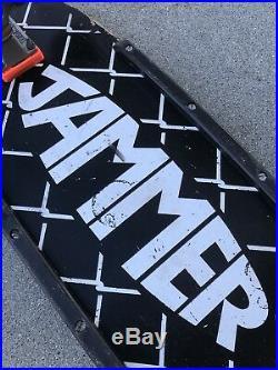 Vintage 1982 Santa Cruz Jammer Team Skateboard (2nd Gen) Stage 2 Indy Kryptonics