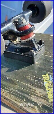 Vintage 1983 Lester Kasai OG Complete Skateboard Tracker/Powell Peralta Rat-bone