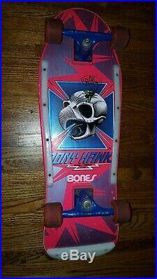 Vintage 1983 Powell & Peralta Tony Hawk Skateboard Pink