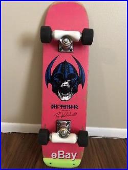Vintage 1984 Powell Peralta Per Welinder Pink Freestyle Skateboard