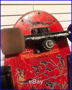 Vintage 1985 Lance Mountain Future Primitive Powell Peralta Skateboard