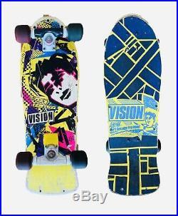 Vintage 1985 Original Vision Mark GONZ Gonzales Skateboard
