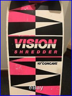 Vintage 1985 Vision Shredder skateboard Complete NOS Powell Peralta Vision Deck
