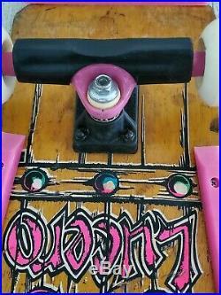 Vintage 1986 Schmitt Stik John Lucerro Complete Skateboard