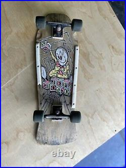 Vintage 1987/ 1980s Jeff Grosso Schmitt stix complete skateboard