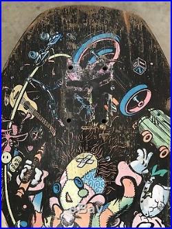 Vintage 1987 Old School Jeff Grosso Toy Box Skateboard Deck Santa Cruz Demon