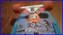 Vintage 1987 Powell Peralta Lance Mountain Complete Skateboard Tracker & Rockets