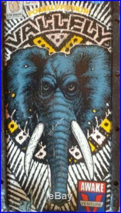 Vintage 1988 Original Mike Vallely Elephant Skateboard Powell Peralta