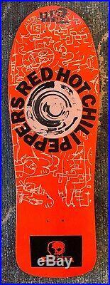 Vintage 1988 Skull Skates RHCP Tribute Skateboard Deck