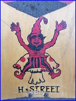 Vintage 1989 Danny Way H-Street Giant Holding Giant Tracker Rasta Powell G Bones