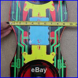 Vintage 1989 Valterra Complete Skateboard Back To The Future II with Original Box