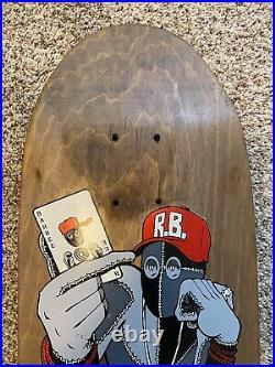 Vintage 1990 Powell Peralta Ray Barbee Hydrant skateboard deck Natas Hawk OG