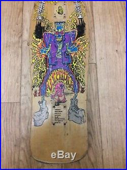Vintage 1990 Vision Skateboards Tom Groholski Frankenstein skateboard Gonz
