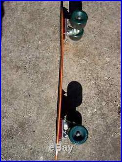 Vintage 70's Skateboard Gordon & Smith Fibreflex Steve Cathy Gull Wing Star Trac