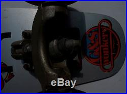 Vintage 70s-80s Sims 70kg Quicksilver skateboard gold HPG IV Gullwing trucks