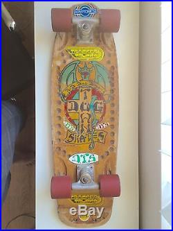 Vintage 70s DOGTOWN with rare wheel-wells Skateboard Alva Sims zflex G&S Tracker