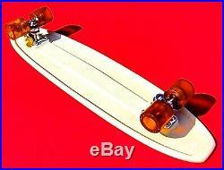 Vintage 70s Super Surfer Hobie Waffle Skateboard