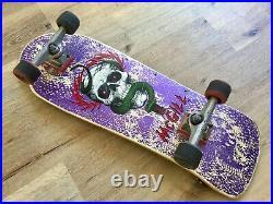Vintage 80's Powell Peralta MIKE MCGILL Skateboard Purple Color (RARE)