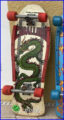Vintage 80s Powell Peralta Caballero skateboard