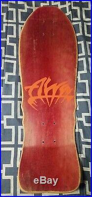 Vintage Alva Craig Johnson El Loco Gringo Mini Skateboard Deck NOS