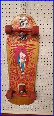 Vintage Alva Fred Smith Loud One III Skateboard Deck Original. Bullet 95 venture