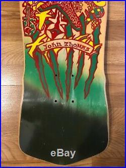 Vintage Alva John Thomas Ankh Skateboard Deck OG 80s NOS JT