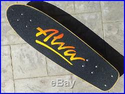 Vintage Alva Skateboard Tracker Sims Original Dogtown Z-Boy Zephyr Z-Flex Old