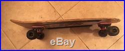 Vintage Complete Powell Peralta Sword & Skull Skateboard 1978