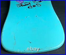 Vintage G&S Billy Ruff Puppet Skateboard Deck NOS 1986