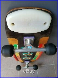 Vintage G&S Doug Pineapple Saladino 1979 OG Skateboard ACS950 trucks Rollerballs
