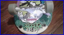 Vintage G&S Gordon & Smith Billy Ruff complete skateboard with Gullwing Pro Trucks