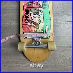 Vintage G&S Gordon & Smith Street Chomp Cereal Skateboard Skate Deck Peralta
